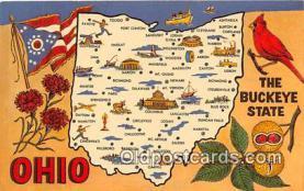 gre000013 - Ohio, USA Postcards Post Cards Old Vintage Antique