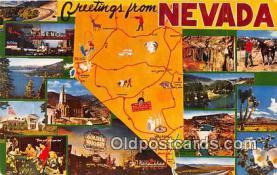gre000020 - Nevada, USA Postcards Post Cards Old Vintage Antique
