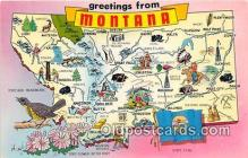 gre000023 - Montana, USA Postcards Post Cards Old Vintage Antique