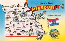 gre000024 - Missouri, USA Postcards Post Cards Old Vintage Antique