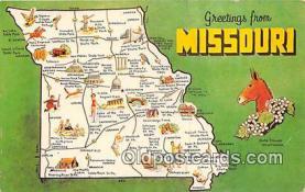 gre000027 - Missouri, USA Postcards Post Cards Old Vintage Antique
