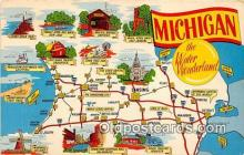 gre000029 - Michigan, USA Postcards Post Cards Old Vintage Antique