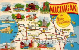 gre000029 - Michigan, USA Postcards Post Cards Old Vintage Antique