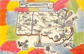 gre000033 - Massachusetts, USA Postcards Post Cards Old Vintage Antique