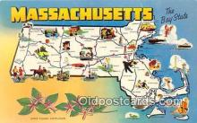 gre000034 - Massachusetts, USA Postcards Post Cards Old Vintage Antique