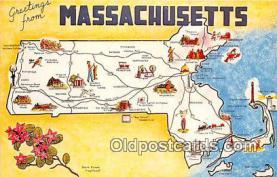 gre000035 - Massachusetts, USA Postcards Post Cards Old Vintage Antique