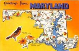 gre000036 - Maryland, USA Postcards Post Cards Old Vintage Antique