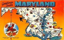 gre000040 - Maryland, USA Postcards Post Cards Old Vintage Antique