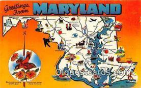 gre000040 - Maryland, USA Postcards Post Cards Old Vintage Antique