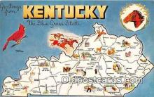 gre000043 - Kentucky, USA Postcards Post Cards Old Vintage Antique