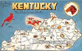 gre000043 - Kentucky, USA Postcards Post Cards Old Vintage Antique