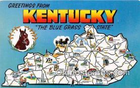 gre000044 - Kentucky, USA Postcards Post Cards Old Vintage Antique