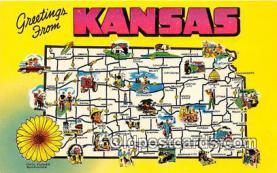 gre000048 - Kansas, USA Postcards Post Cards Old Vintage Antique