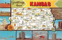 gre000050 - Kansas, USA Postcards Post Cards Old Vintage Antique