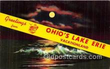 gre000066 - Lake Erie Ohio, USA Postcards Post Cards Old Vintage Antique