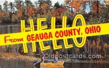 gre000068 - Geauga County Ohio, USA Postcards Post Cards Old Vintage Antique