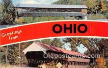 gre000075 - Ohio, USA Postcards Post Cards Old Vintage Antique