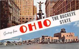 gre000076 - Ohio, USA Postcards Post Cards Old Vintage Antique