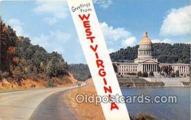 gre000081 - West Virginia, USA Postcards Post Cards Old Vintage Antique