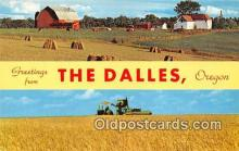 gre000085 - The Dalles Oregon, USA Postcards Post Cards Old Vintage Antique