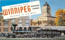 gre000095 - Winnipeg Manitoba Canada Postcards Post Cards Old Vintage Antique