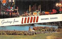 gre000097 - London Ontario Canada Postcards Post Cards Old Vintage Antique