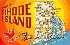 gre000106 - Rhode Island, USA Postcards Post Cards Old Vintage Antique