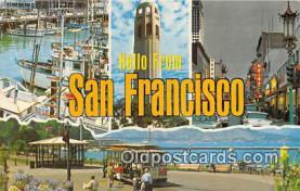 gre000113 - San Francisco California, USA Postcards Post Cards Old Vintage Antique