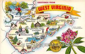gre000115 - West Virginia, USA Postcards Post Cards Old Vintage Antique