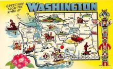 gre000119 - Washington, USA Postcards Post Cards Old Vintage Antique