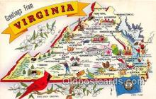 gre000125 - Virginia, USA Postcards Post Cards Old Vintage Antique