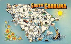 gre000126 - Carolina, USA Postcards Post Cards Old Vintage Antique