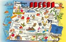 gre000131 - Oregon, USA Postcards Post Cards Old Vintage Antique