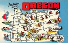 gre000132 - Oregon, USA Postcards Post Cards Old Vintage Antique
