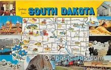 gre000141 - South Dakota, USA Postcards Post Cards Old Vintage Antique