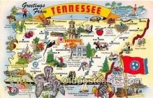 gre000144 - Tennessee, USA Postcards Post Cards Old Vintage Antique
