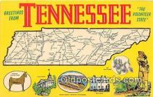 gre000147 - Tennessee, USA Postcards Post Cards Old Vintage Antique