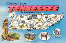 gre000149 - Tennessee, USA Postcards Post Cards Old Vintage Antique