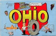 gre000155 - Ohio, USA Postcards Post Cards Old Vintage Antique