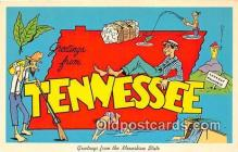 gre000158 - Tennessee, USA Postcards Post Cards Old Vintage Antique
