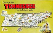 gre000160 - Tennessee, USA Postcards Post Cards Old Vintage Antique