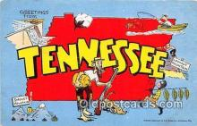 gre000161 - Tennessee, USA Postcards Post Cards Old Vintage Antique