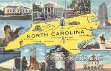 gre000163 - North Carolina, USA Postcards Post Cards Old Vintage Antique
