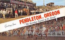 gre000166 - Pendleton Oregon, USA Postcards Post Cards Old Vintage Antique