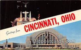 gre000169 - Cincinnati Ohio, USA Postcards Post Cards Old Vintage Antique