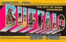 gre000172 - Buffalo New York, USA Postcards Post Cards Old Vintage Antique