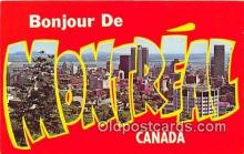 gre000173 - Montreal Canada Postcards Post Cards Old Vintage Antique