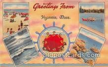 gre000175 - Hyannis Massachusetts, USA Postcards Post Cards Old Vintage Antique