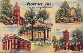 gre000176 - Florence Alabama, USA Postcards Post Cards Old Vintage Antique