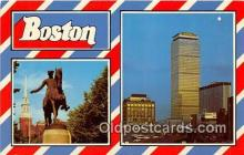 gre000178 - Boston Massachusetts, USA Postcards Post Cards Old Vintage Antique